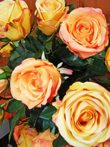 Silky Florals Roses